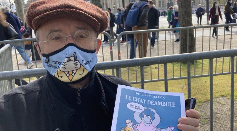 Exposition en plein air «Le Chat Déambule» et rencontre avec Philippe Geluck