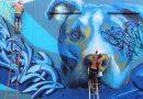 L'APE en croisière sur le canal Saint-Denis avec participation de l'Aubergraffiti Show